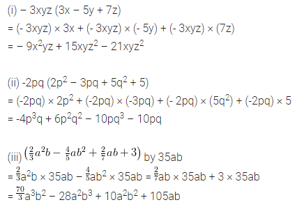 APC Maths Class 8 Solutions Chapter 10 Algebraic Expressions and Identities Ex 10.2 Q2