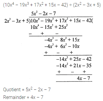 ML Aggarwal Class 8 Solutions for ICSE Maths Chapter 10 Algebraic Expressions and Identities Check Your Progress Q9
