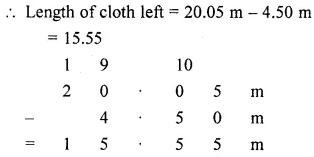 Class 6 Maths ICSE ML Aggarwal Chapter 7 Decimals Ex 7.5