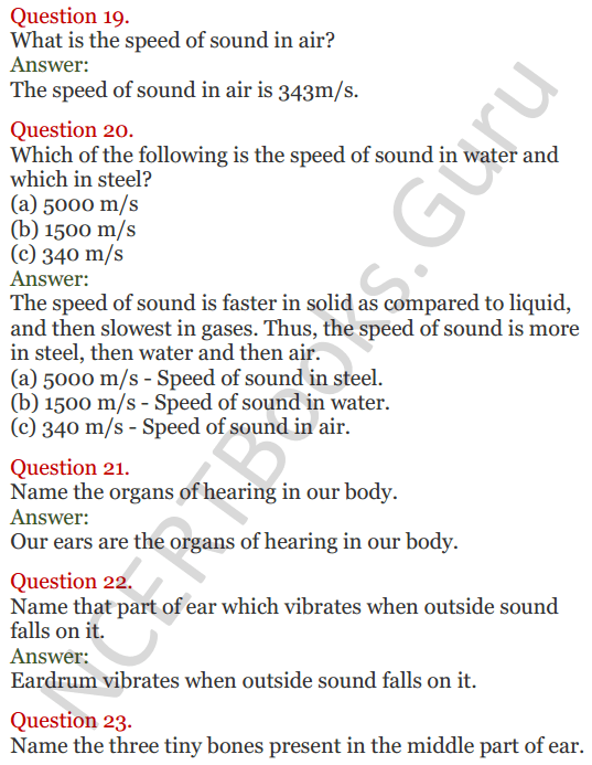 Lakhmir Singh Science Class 8 Solutions Chapter 13 Sound - 5