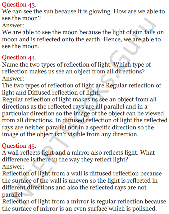 Lakhmir Singh Science Class 8 Solutions Chapter 16 Light - 15