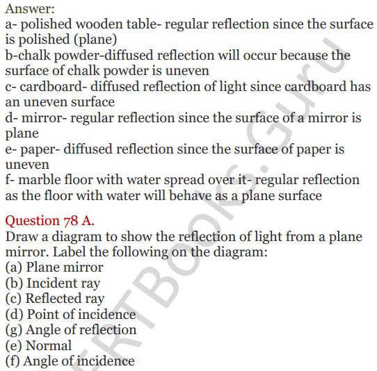 Lakhmir Singh Science Class 8 Solutions Chapter 16 Light - 30