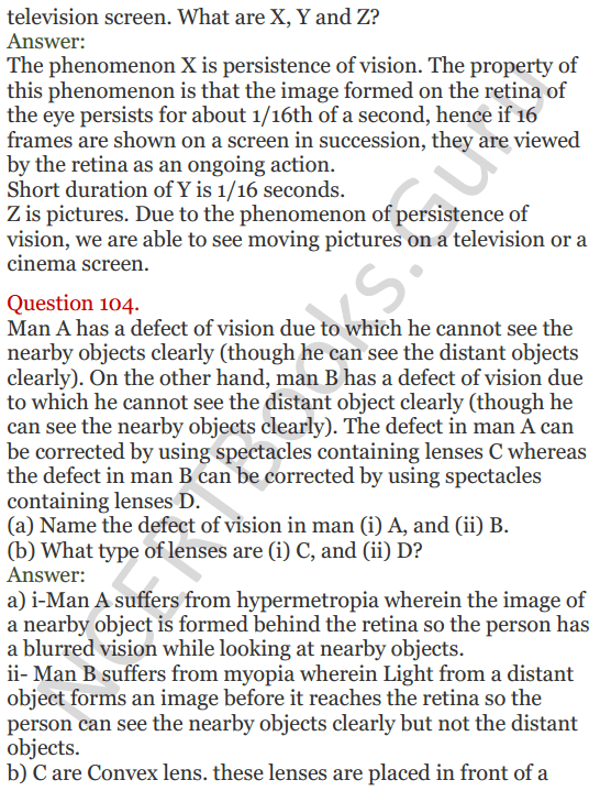 Lakhmir Singh Science Class 8 Solutions Chapter 16 Light - 44