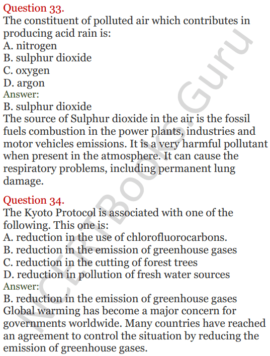 Lakhmir Singh Science Class 8 Solutions Chapter 18 Pollution of Air and Water - 21