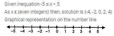 ICSE Class 8 Maths Book Solutions Free Download Pdf Chapter 12 Linear Equations and Inequalities in one Variable Check Your Progress Q12