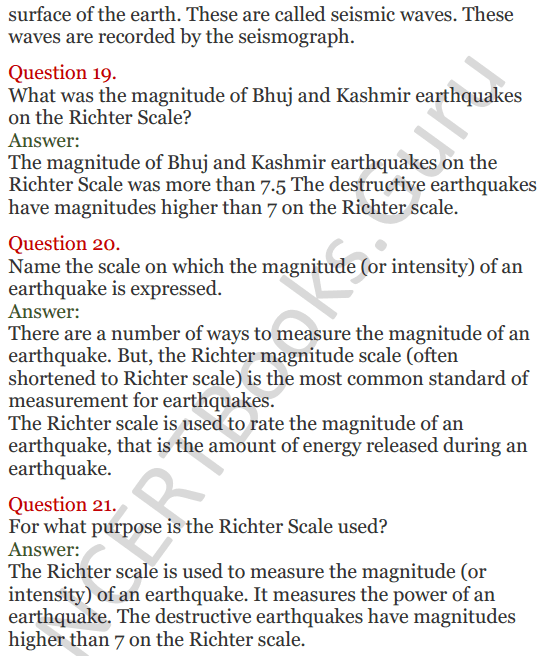 Lakhmir Singh Science Class 8 Solutions Chapter 15 Some Natural Phenomena - 6