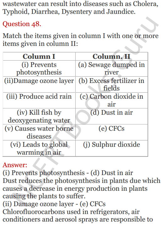 Lakhmir Singh Science Class 8 Solutions Chapter 18 Pollution of Air and Water - 29