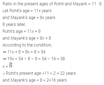 ML Aggarwal Class 8 Solutions for ICSE Maths Chapter 12 Linear Equations and Inequalities in one Variable Check Your Progress Q6