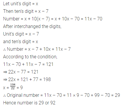 ICSE Class 8 Maths Book Solutions Free Download Pdf Chapter 12 Linear Equations and Inequalities in one Variable Check Your Progress Q8