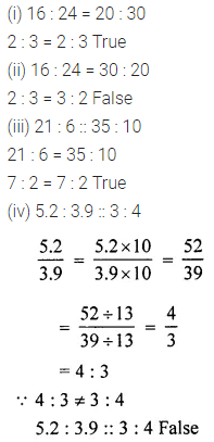 ICSE Understanding Mathematics Class 6 Book PDF Chapter 8 Ratio and Proportion Ex 8.2
