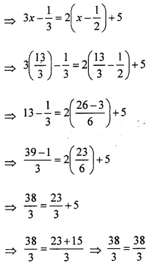 ML Aggarwal Class 6 Solutions Chapter 9 Algebra Ex 9.5