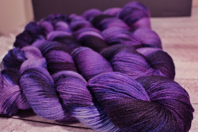 Tiger Club July 2019 - Deepening Twilight - Merino Alpaca Nylon