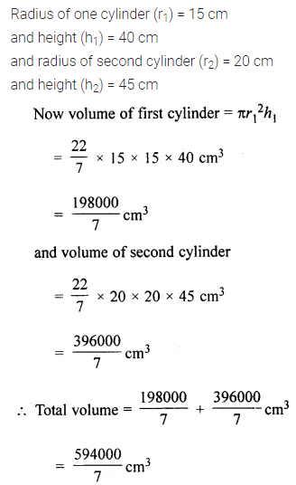 ML Aggarwal Class 8 Solutions for ICSE Maths Chapter 18 Mensuration Ex 18.3 Q13