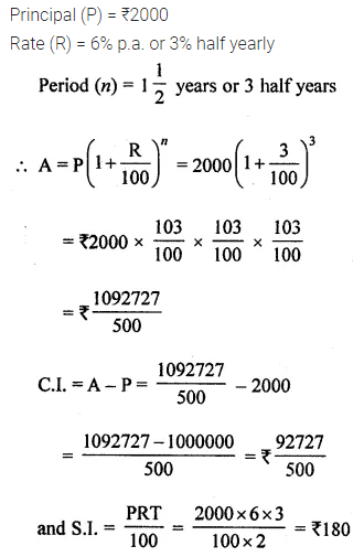 ML Aggarwal Class 8 Solutions for ICSE Maths Model Question Paper 3 Q21