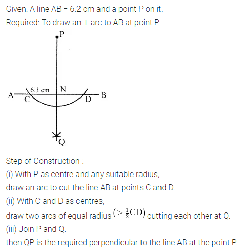 ML Aggarwal Class 6 Solution Chapter 13 Practical Geometry Ex 13.2