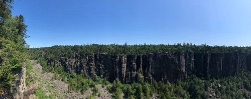 Ouimet Canyon - East panorama