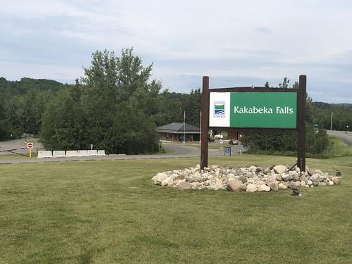 Kakabeka Falls - teh sign