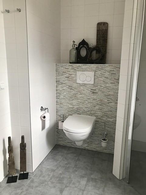 Toilet landelijke decoratie