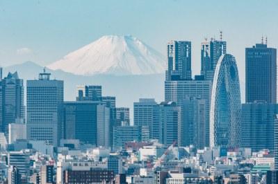 Bunkyo Civic Center: Shinjuku & Mt. Fuji