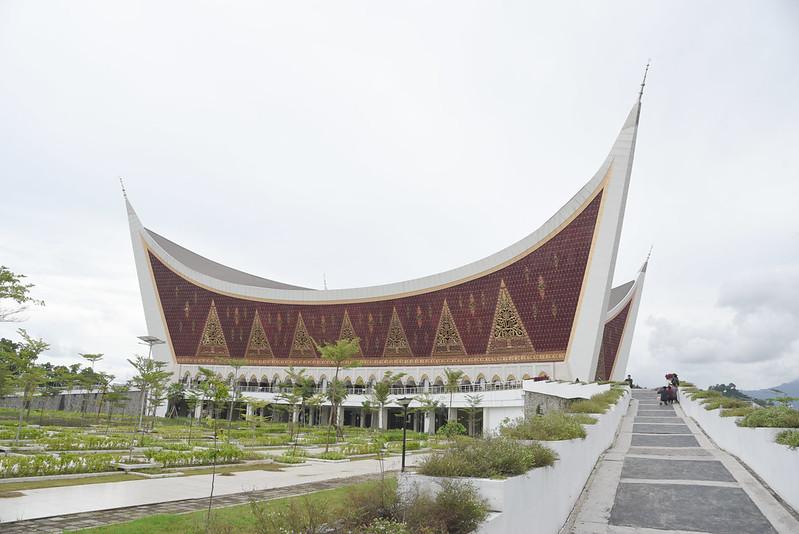 grand mosque of western sumatra