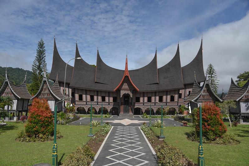 minangkabau center in padangpanjang
