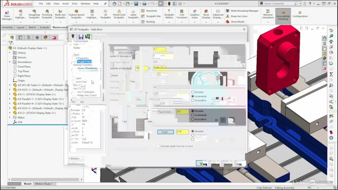 Mastercam 2019 for SOLIDWORKS 2019 videos course