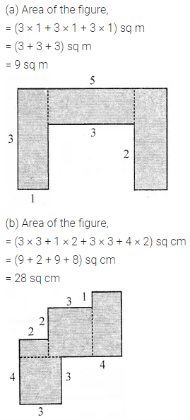 ML Aggarwal Class 6 Solution Chapter 14 Mensuration Check Your Process