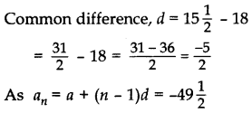 Important Questions for Class 10 Maths Chapter 5 Arithmetic Progressions 10