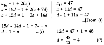 Important Questions for Class 10 Maths Chapter 5 Arithmetic Progressions 19