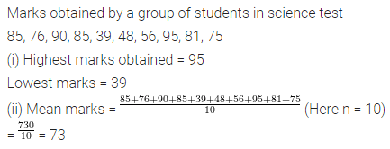 ML Aggarwal Class 6 Solutions for ICSE Maths Chapter 15 Data Handling Ex 15.4 Q5