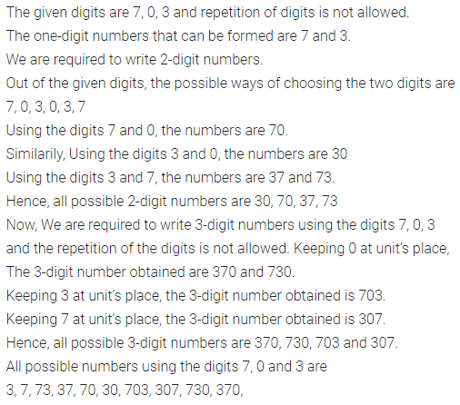ML Aggarwal Class 6 Solutions for ICSE Maths Model Question Paper 1 Q6
