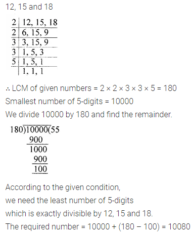 ML Aggarwal Class 6 Solutions for ICSE Maths Model Question