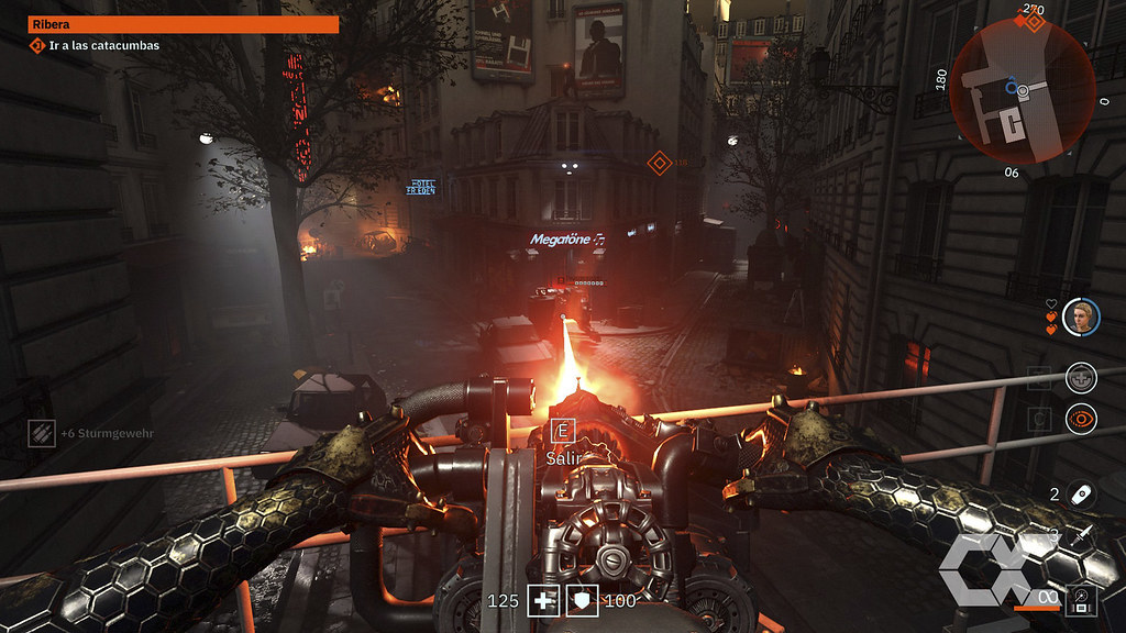 Wolfenstein Youngblood - Overcluster 09