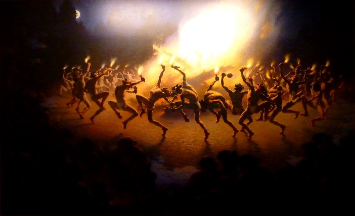 Navajo Fire Dance