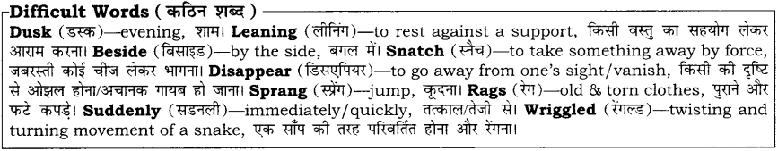 Uttankas Gurudakshina RBSE Class 10 English Notes 7