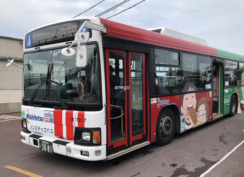 姪浜 渡船場 天神・博多行きバス