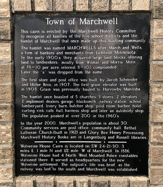 Marchwell - abou the town