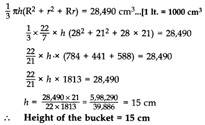 Important Questions for Class 10 Maths Chapter 13 Surface Areas and Volumes 81
