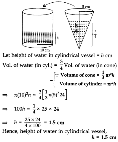 Important Questions for Class 10 Maths Chapter 13 Surface Areas and Volumes 46