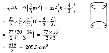 Important Questions for Class 10 Maths Chapter 13 Surface Areas and Volumes 22