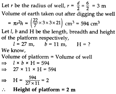 Important Questions for Class 10 Maths Chapter 13 Surface Areas and Volumes 77
