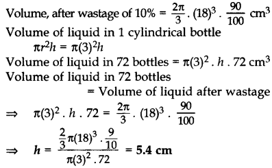 Important Questions for Class 10 Maths Chapter 13 Surface Areas and Volumes 50