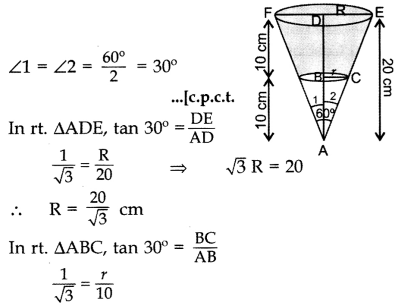 Important Questions for Class 10 Maths Chapter 13 Surface Areas and Volumes 25