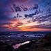 Sunset over Billings, Montana