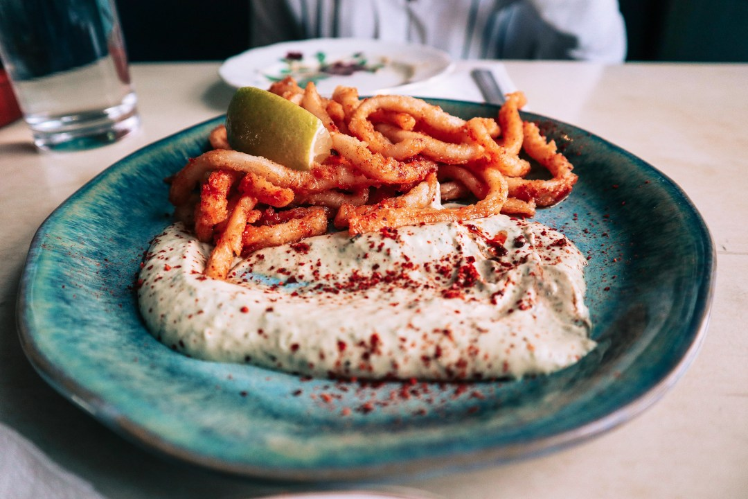 Calamari fritti, Irlanda