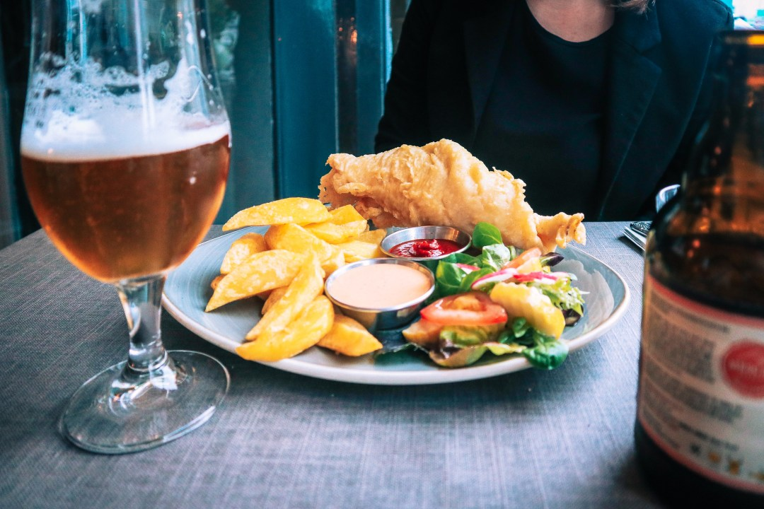 fish and chips, Westport