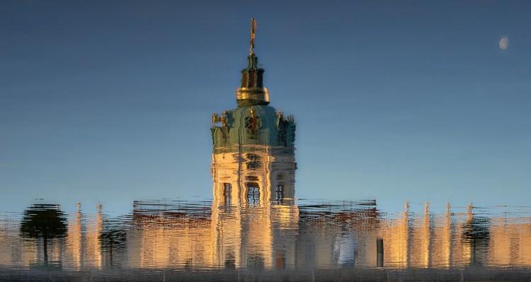 Wasserspiegelung Schloss Charlottenburg
