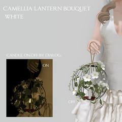 *NAMINOKE*Camellia lantern bouquet