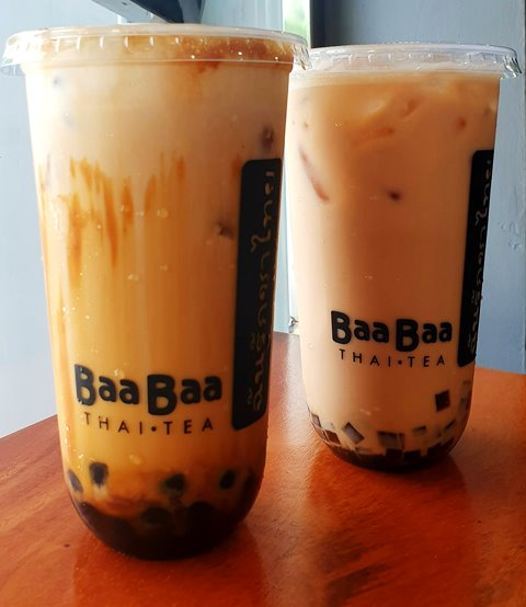 Baa Baa Thai Tea Creme Brulee and Salted Caramel