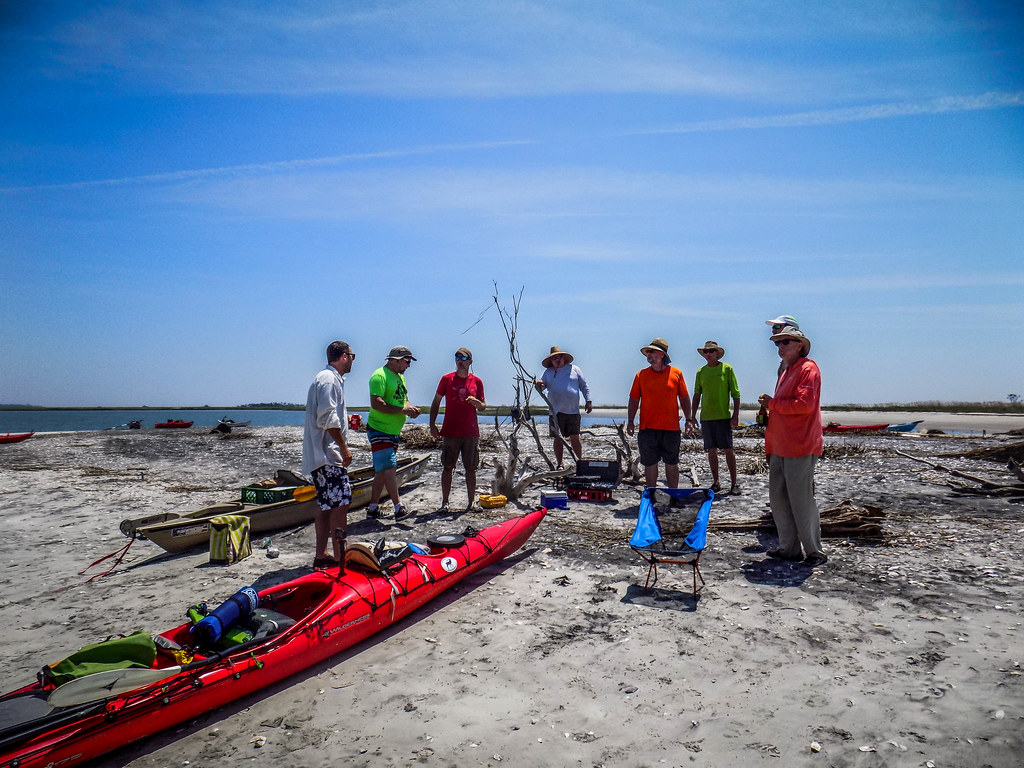 Station Creek Falls to Capers Island with LCU-151